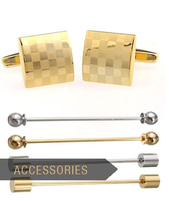 Collar Pin bars, Cufflinks, etc