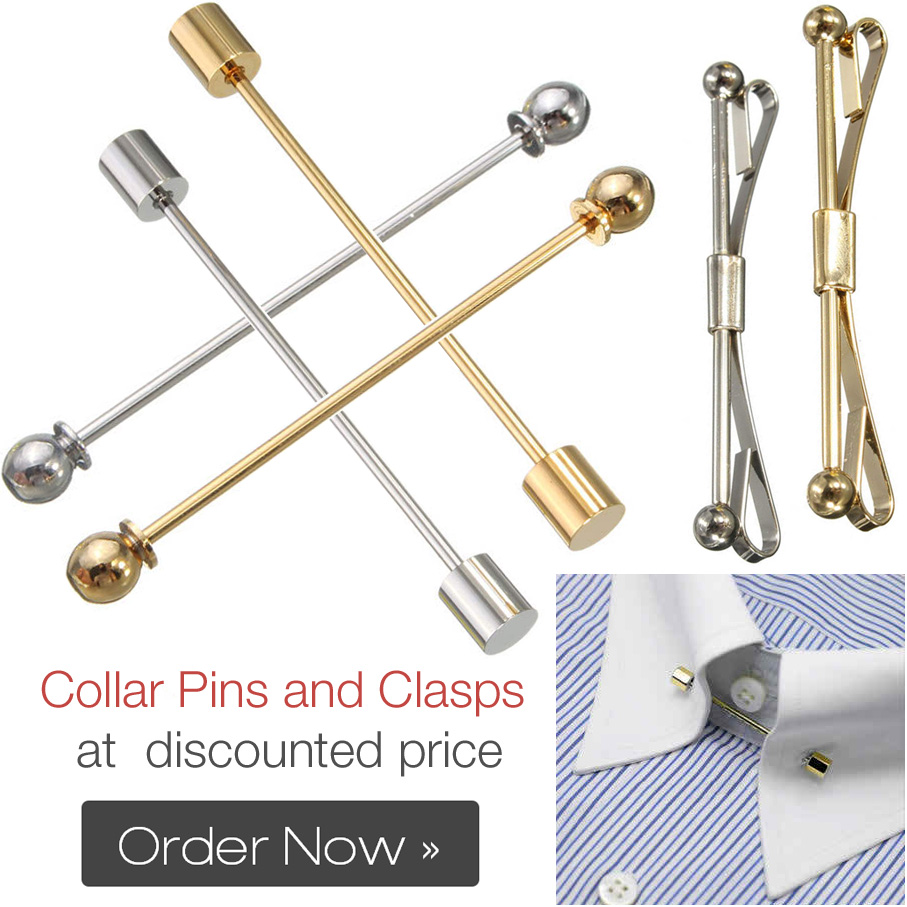 Collar Pins bars & Clasps