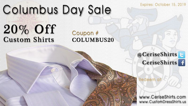 Columbus Day Sale - 2019