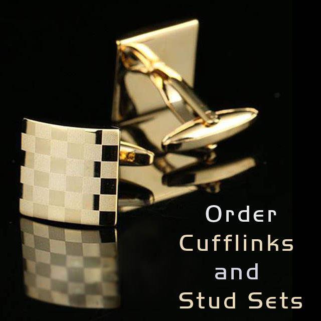 Cufflinks and Stud Sets