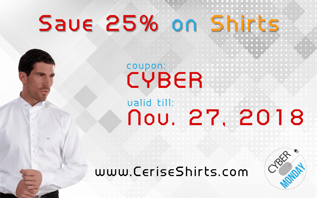 Latest cerise dress shirts offers deals coupons for Cyber monday deals mens dress shirts