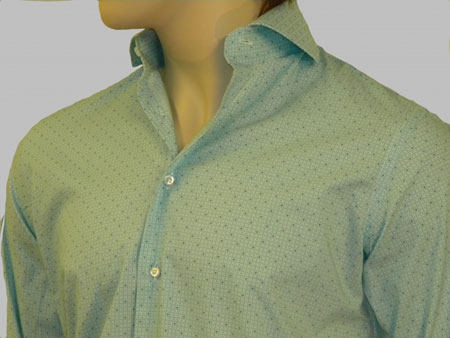 Green Custom Dress Shirt