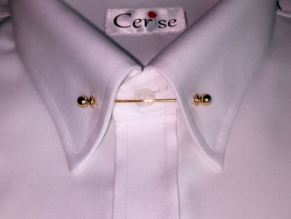 Elegant Looking Men 39 S Pin Collar Dress Shirts With Many