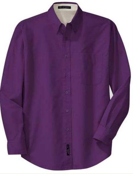 Design your own purple dress shirts among lot of style for Royal purple mens dress shirts
