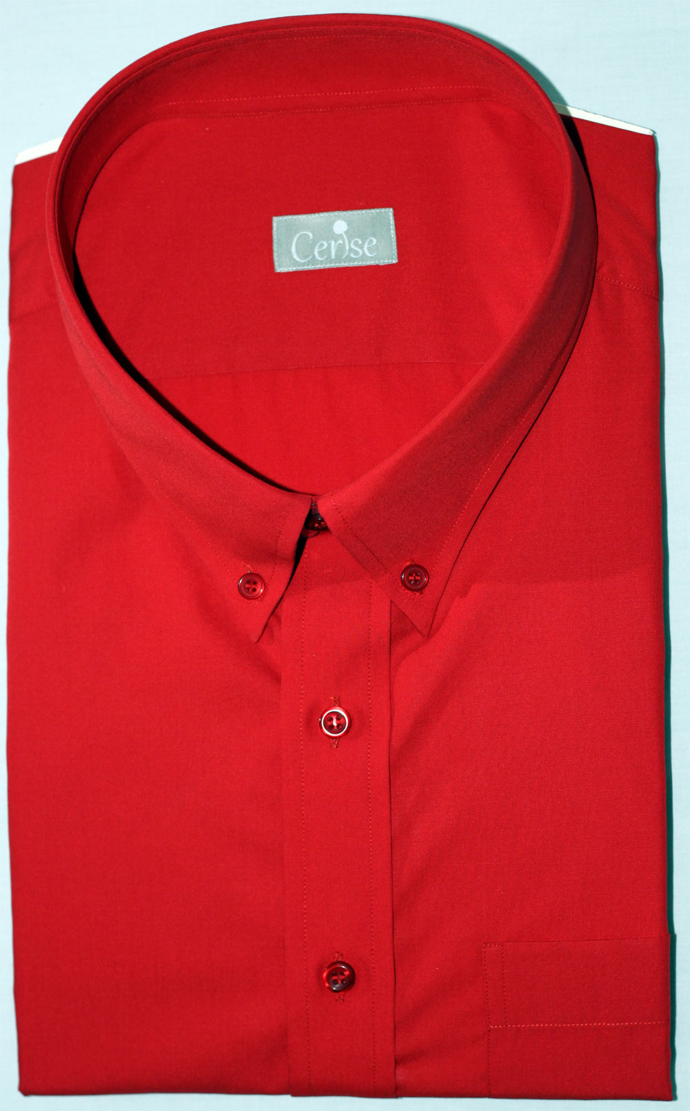 Red Custom Dress Shirt