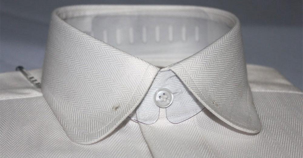 Round collar shirt vintage club collar shirt eton collar for Round collar shirt men