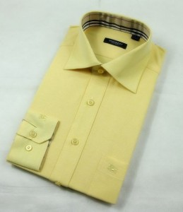 Yellow Custom Dress Shirt