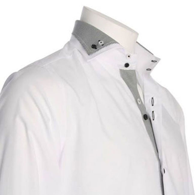 Men's White Designer Shirt
