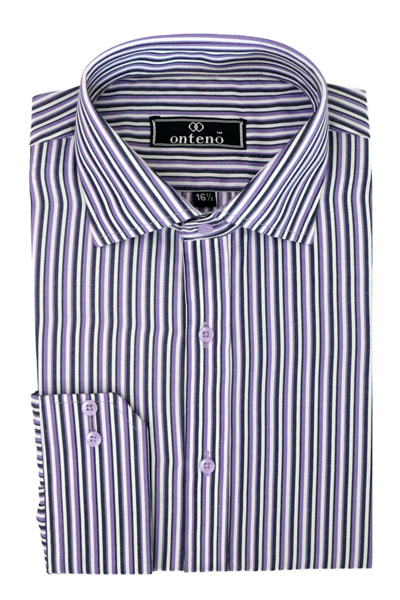 Black/White/Purple Stripes