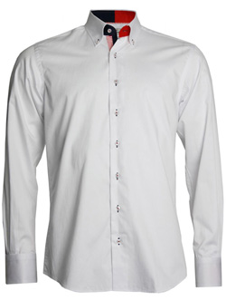 Men's Formal White Shirt