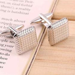 New Men's Silver Cuff Link