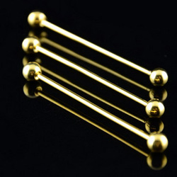 Golden ball collar pin bars