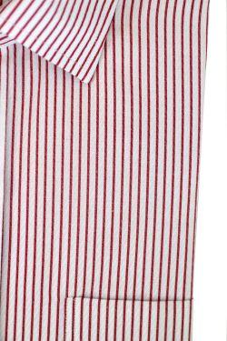 White/Red Stripes