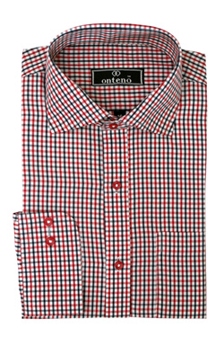 Red Berry/Black/White Checks